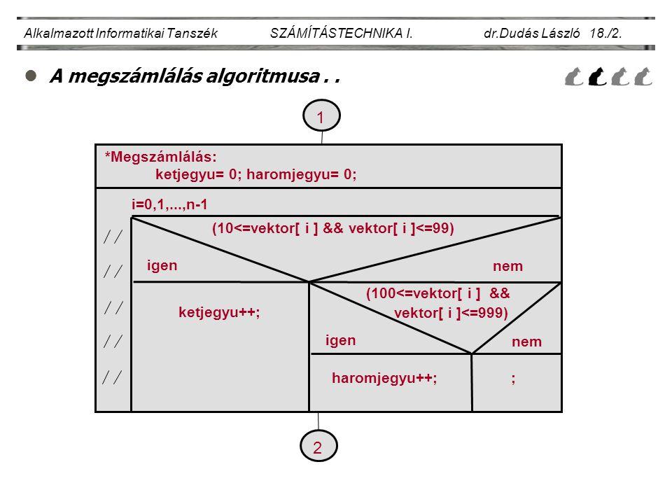(10<=vektor[ i ] && vektor[ i ]<=99)